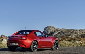 Mazda lifts the lid on the MX-5 with RF and its amazing folding hard-top