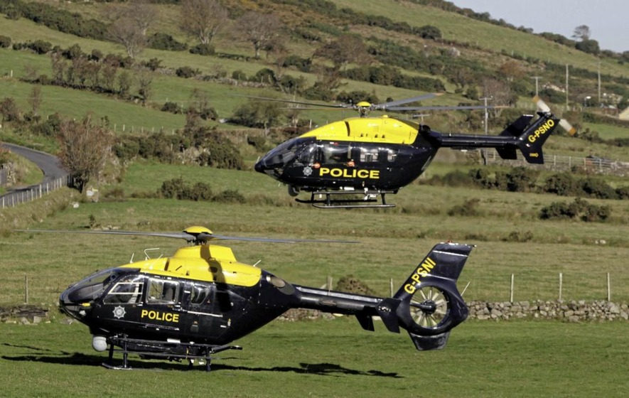Police helicopters deployed 10 times to airlift patients to hospital