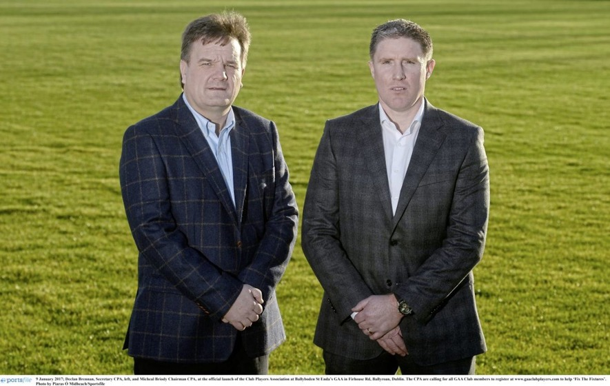 "GAA President ""ignoring will of 20,000 players"" says CPA chief Briody"