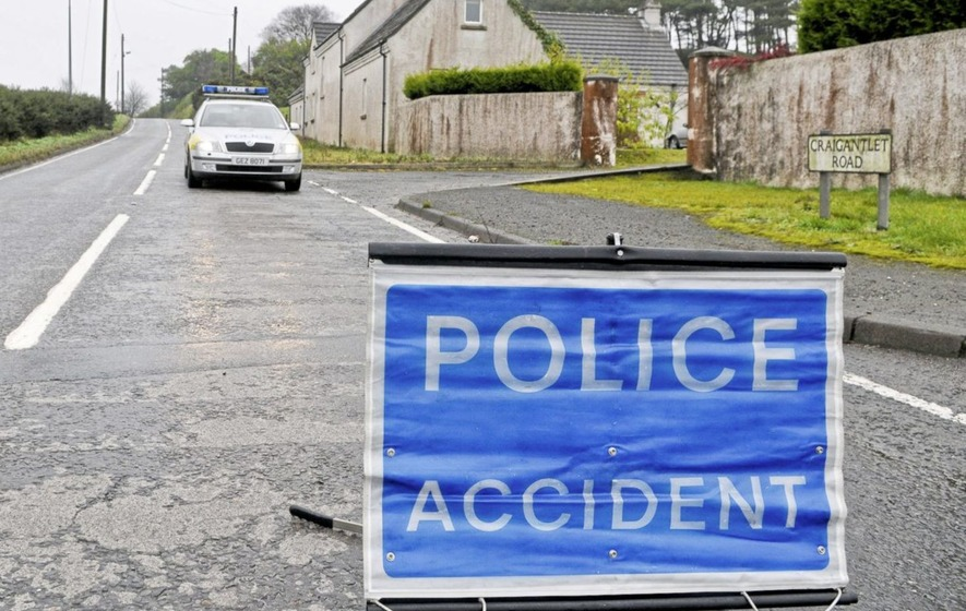 Man dies in road crash near Bangor