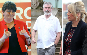 Sinn Féin's Michelle O'Neill tells Arlene Foster 'stop fixating on Gerry Adams'