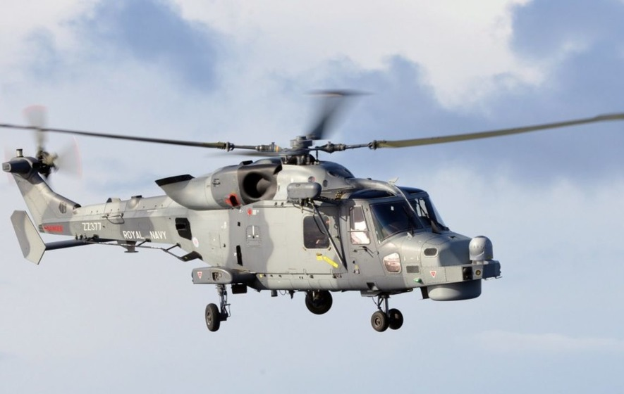 The Newest Royal Navy Helicopters Still Cant Send Data From Air