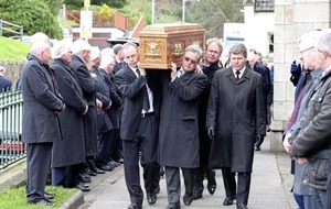 Former players and managers gather at funeral of Down GAA stalwart Leo Murphy