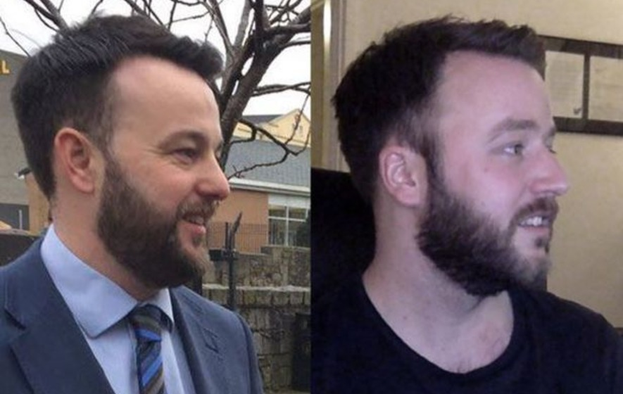 Spot the difference: Colum Eastwood has a doppelgänger