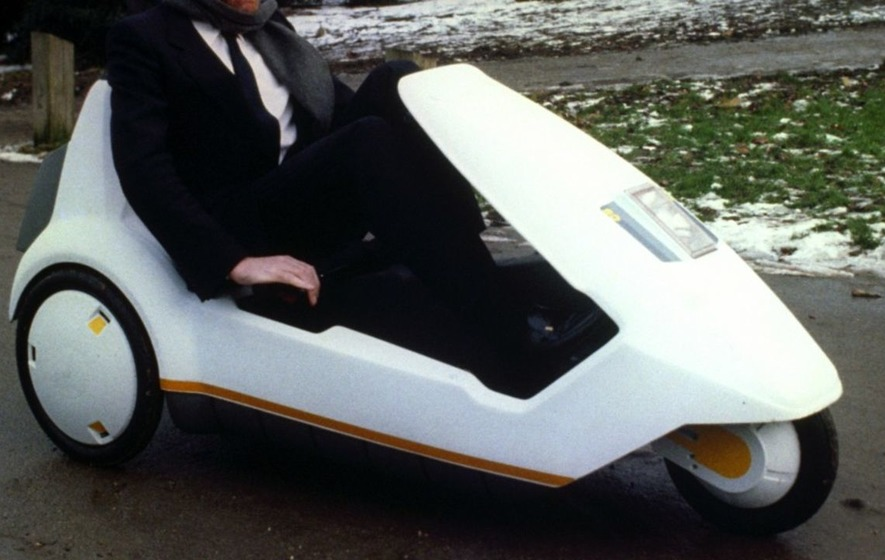 Old-school electric tricycle the Sinclair C5 has had a modern makeover...