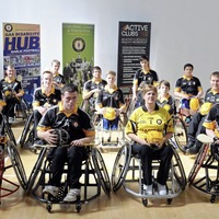 Wheelchair hurling stars could be set to transfer skills to international stage as possible floorball link mooted