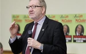 Top union boss Len McCluskey slams austerity cuts during Belfast visit