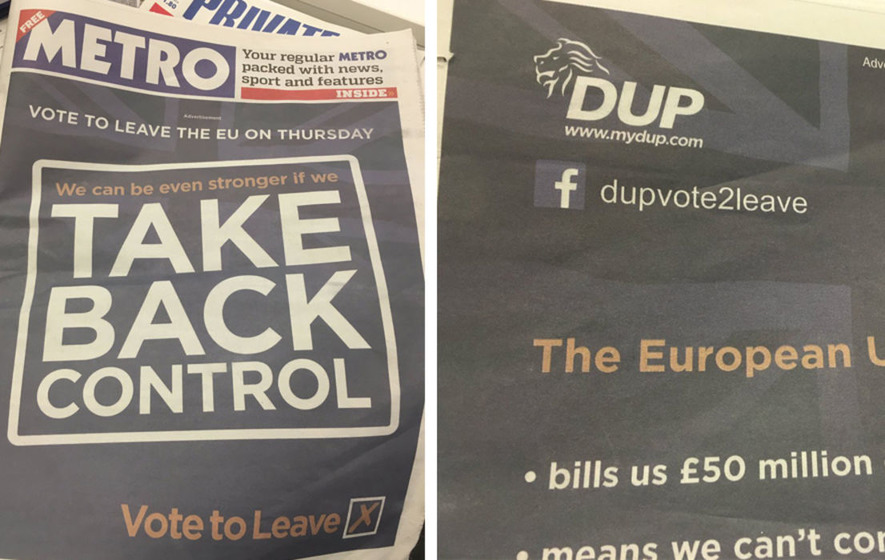 DUP 'tried to delay release of Brexit expenses' until after election