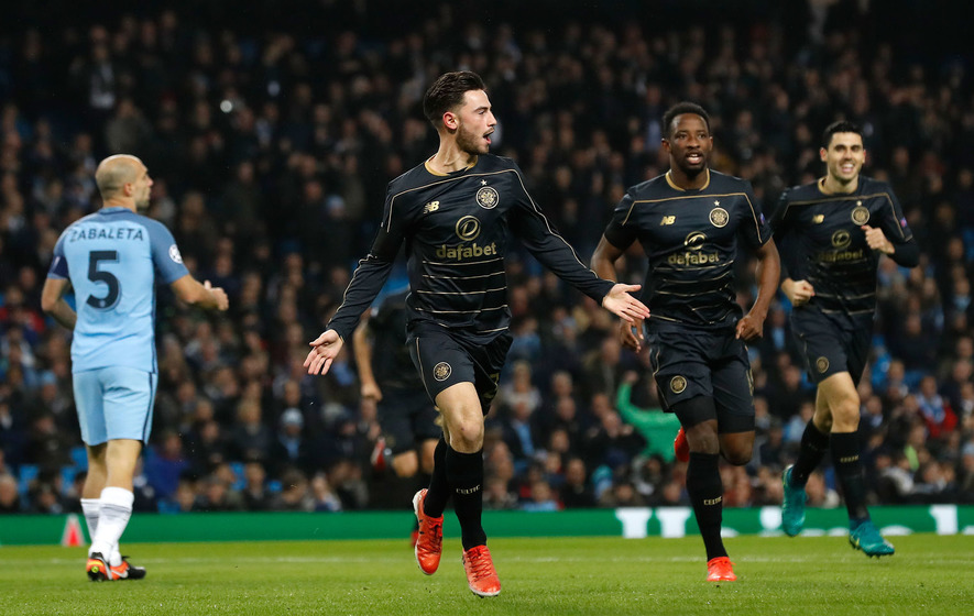 Celtic fined by Uefa over crowd trouble against Manchester City
