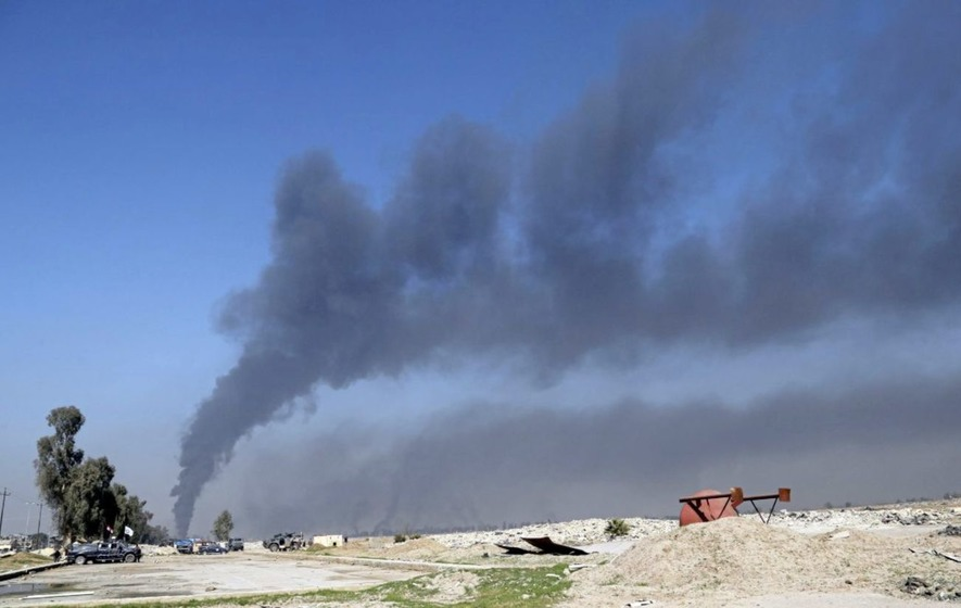 First Iraqi jets strike Islamic State targets in Syria
