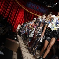 Moschino's latest collection is quite literally garbage