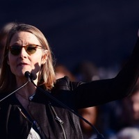 Jodie Foster joins Beverly Hills rally opposing President Donald Trump
