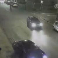CCTV has captured this shocking hit and run