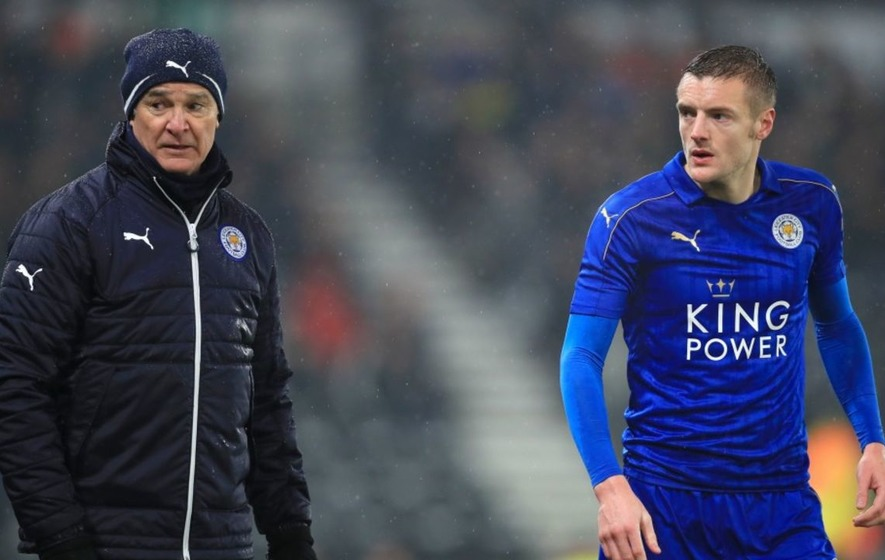 Jamie Vardy describes speculation he was involved in Claudio Ranieri's dismissal as 'unfounded'