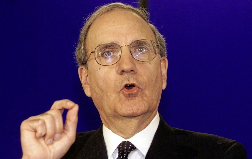 George Mitchell says it may be time to review Good Friday Agreement structures