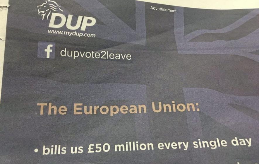 Sinn Féin and SDLP say questions remain over DUP Brexit benefactors