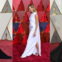 Kirsten, Karlie and Taraji in capes, gowns and glitter on the Oscars red carpet
