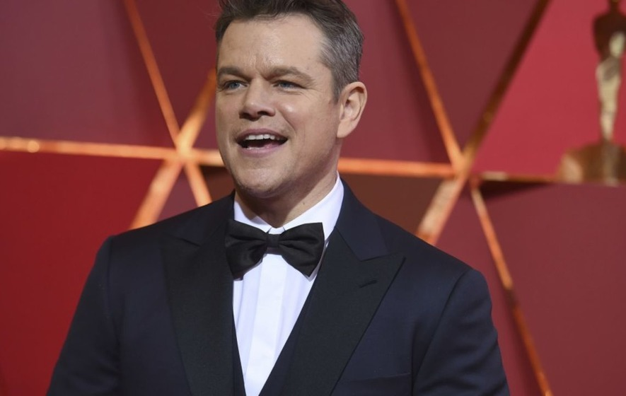 Take cover Matt Damon: Jimmy Kimmel hints he won't hold back as he hosts the Oscars