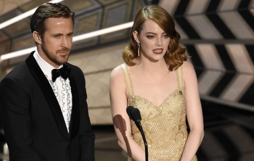 Emma Stone casts doubt over Warren Beatty's Oscars mix-up claim