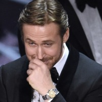 Ryan Gosling sees the funny side as La La Land team sees prize slip from grasp