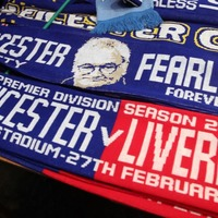 Signs, scarves and masks: Leicester City fans were in no mood to forget Claudio Ranieri