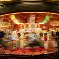 Northern Ireland merry-go-round makes me sick