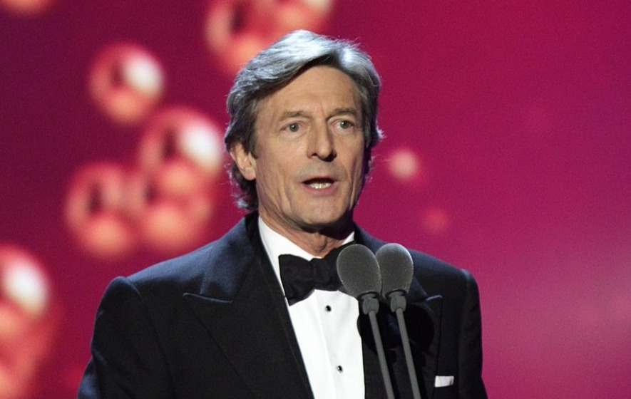 nigel havers proves he 39 s still got it by flirting with