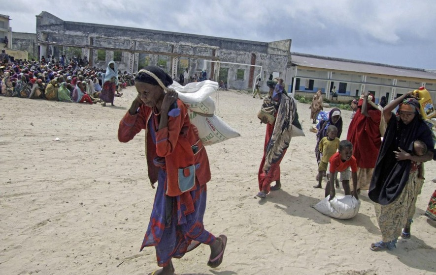 Somalia's president Mohamed Abdullahi Mohamed declares drought a national disaster