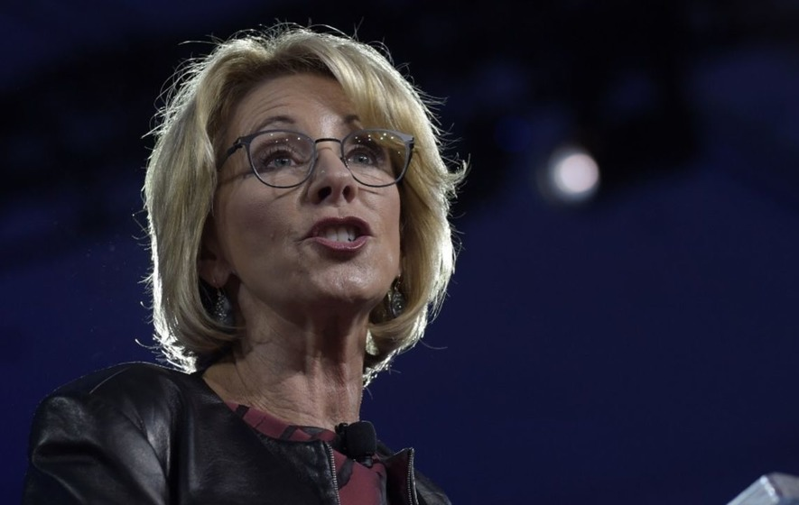 People are outraged that Betsy DeVos seems to be glossing over the history of racially segregated education