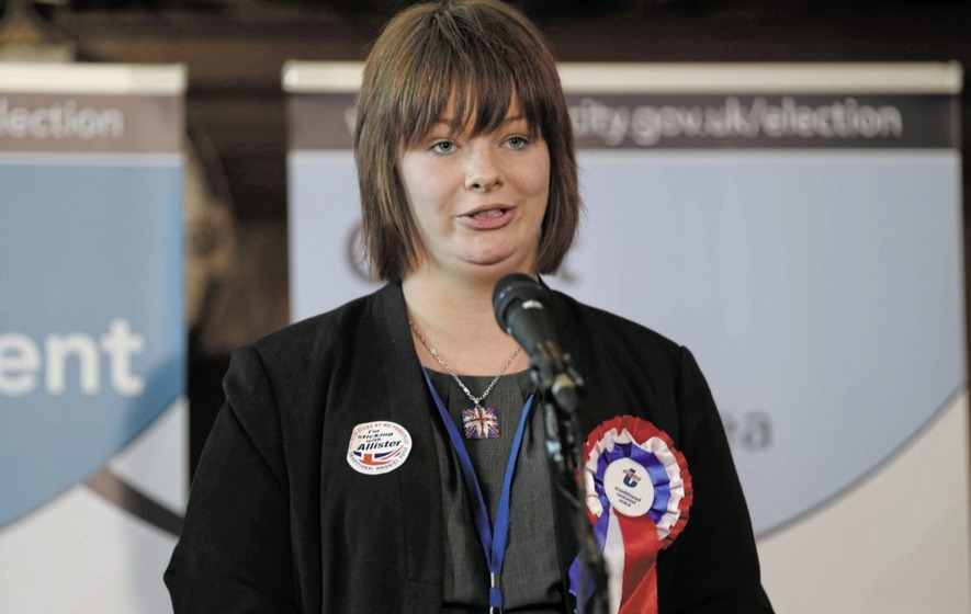 Jolene Bunting: Belfast TUV councillor resigns from party