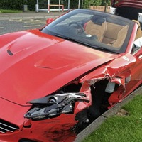 Drink driving businessman who crashed new Ferrari claimed to have no memory of the incident