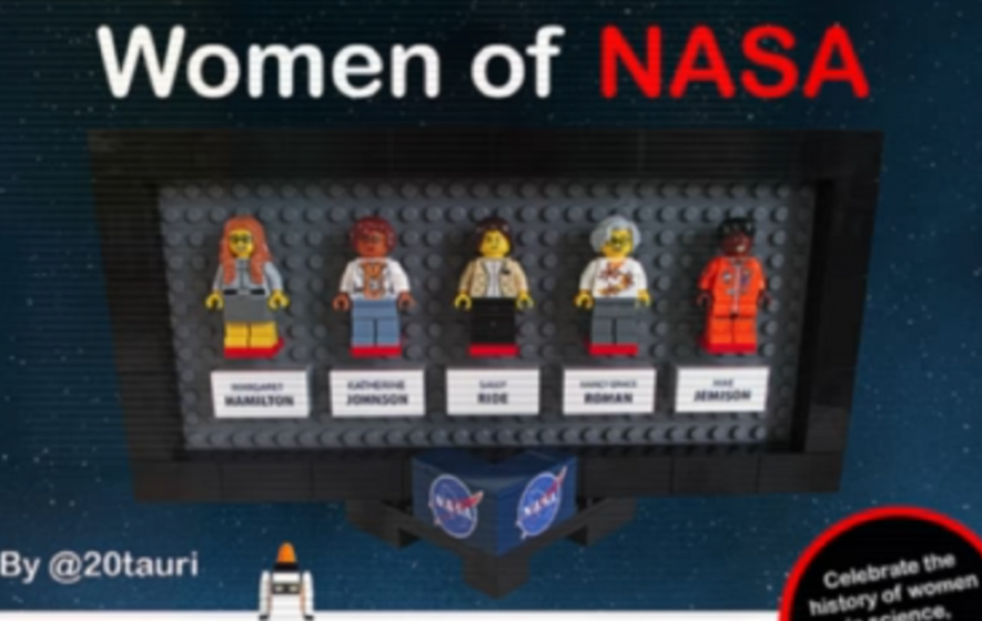 Lego's newest set celebrates women and science