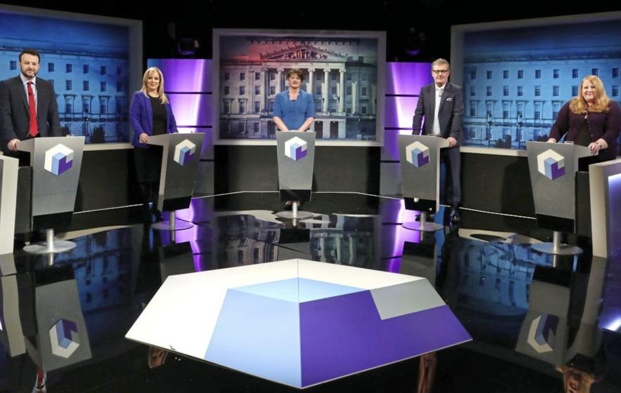 Video: 'What about a bit of respect Michelle?', Arlene Foster asks Sinn Féin leader