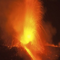 These pictures of Mount Etna spewing lava are really quite something