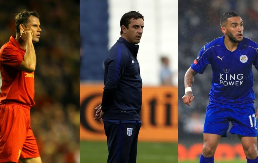 Jamie Carragher and Danny Simpson's Twitter beef was made even better by Gary Neville's cameo