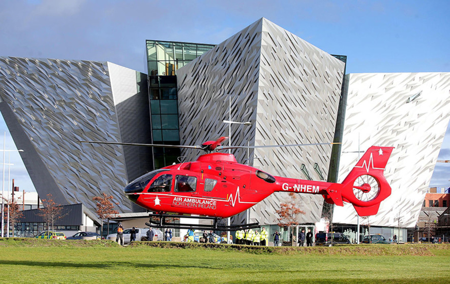 Air ambulance plans get go-ahead