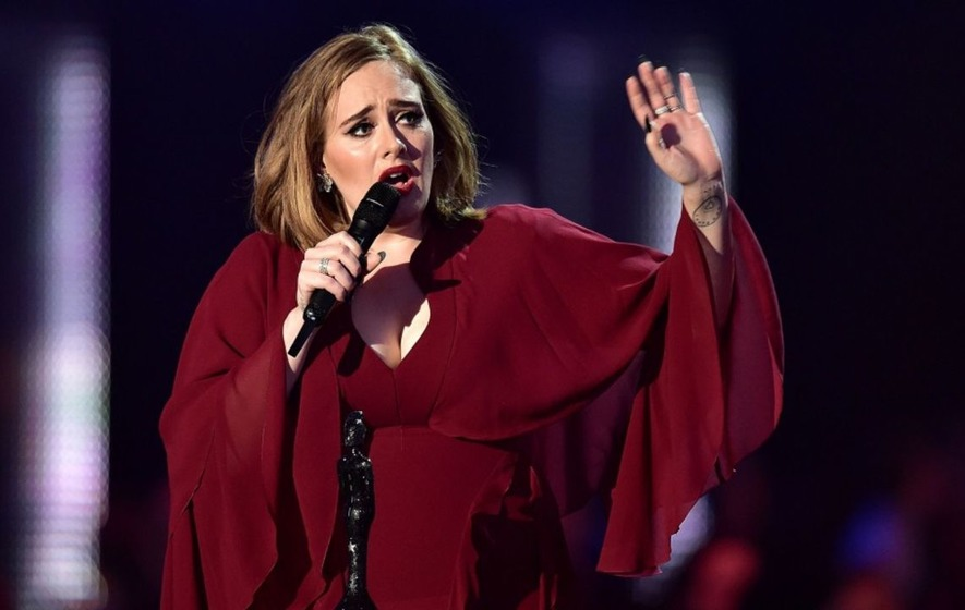 Adele was bowled over when an Australian drag queen impersonated her on stage