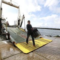 Ballot box makes choppy journey to Rathlin Island