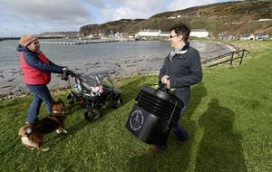 Ballot box makes choppy journey to Rathlin Island