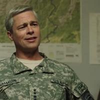 War Machine trailer shows Brad Pitt as grey-haired US general