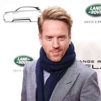 Damian Lewis in top gear at Range Rover launch event