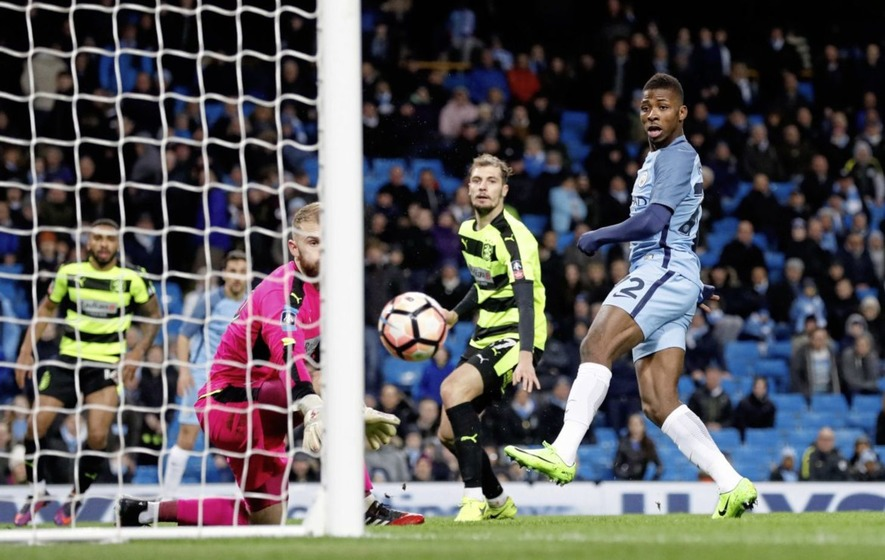 Sergio Aguero scores a brace as Manchester City rout Huddersfield Town 5-1 in FA Cup fifth round replay