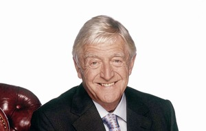 Chat show king Michael Parkinson set for Belfast stage this May