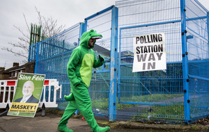 Gallery: Voting 'steady' with reports of higher turnout in some areas for assembly election