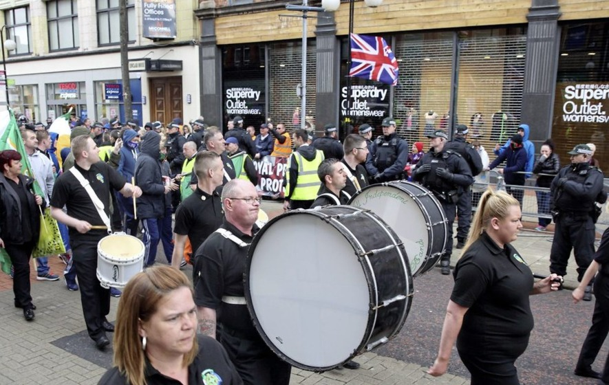 Republicans plan Easter Rising parade through Belfast city centre