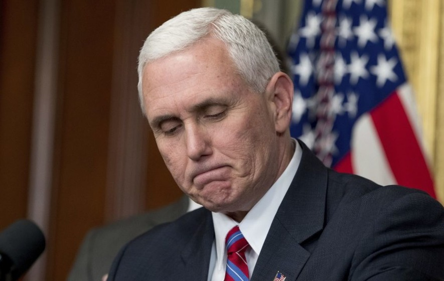 Mike Pence is reportedly embroiled in his own email scandal