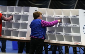 Turnout in election highest since the year of the Good Friday peace agreement.