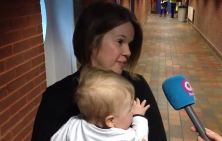 Breastfeeding Alliance candidate upset after baby denied entry at election count centre