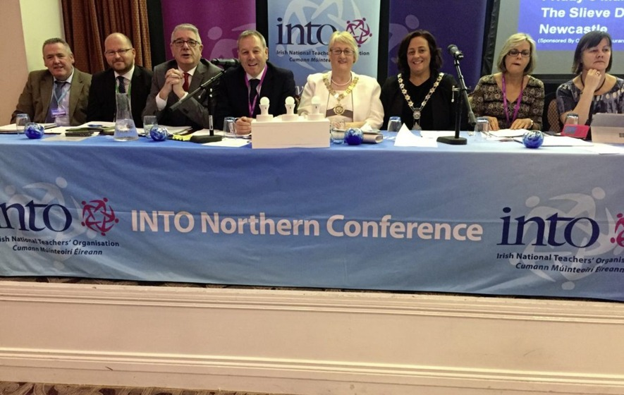 INTO conference: Teachers have `no confidence' in inspections