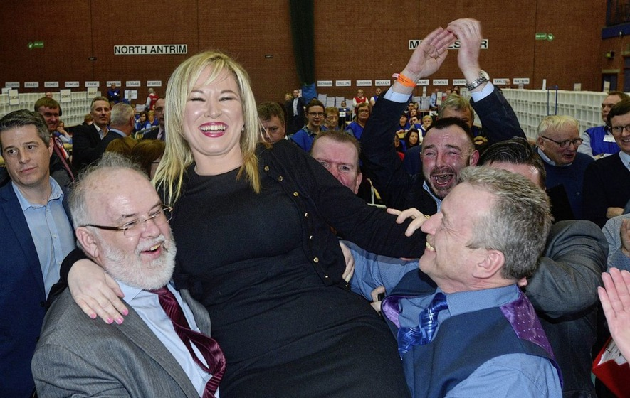 Michelle O'Neill leads Sinn Féin to hat-trick in Mid Ulster